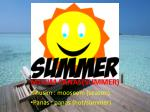 musim panas summer