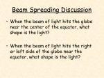 beam spreading discussion17