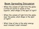 beam spreading discussion18