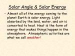 solar angle solar energy23