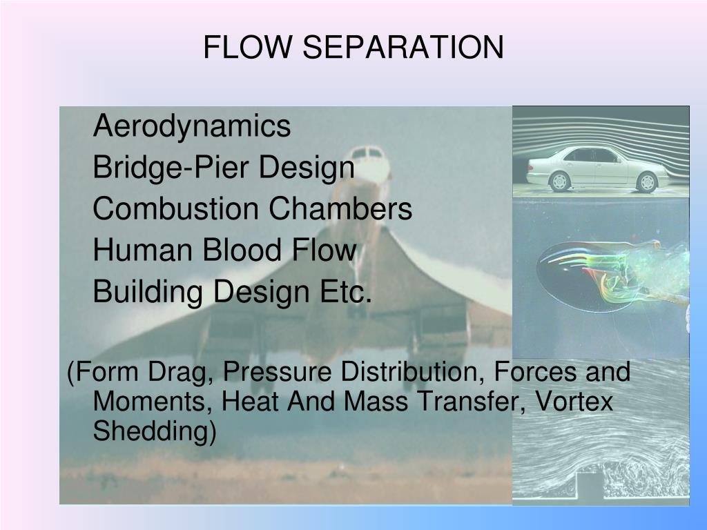 flow separation l.