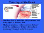 coverings of the heart10