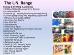 the l n range13