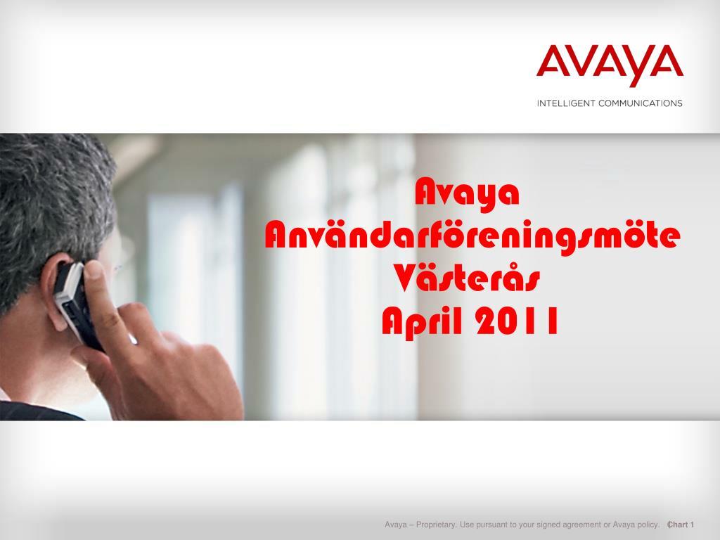 avaya anv ndarf rening sm te v ster s april 2011 l.