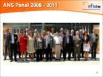 ans panel 2008 2011