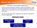 general data requirements i