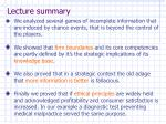 lecture summary49