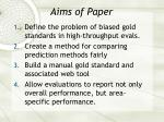 aims of paper25