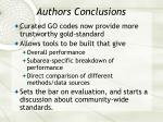 authors conclusions35