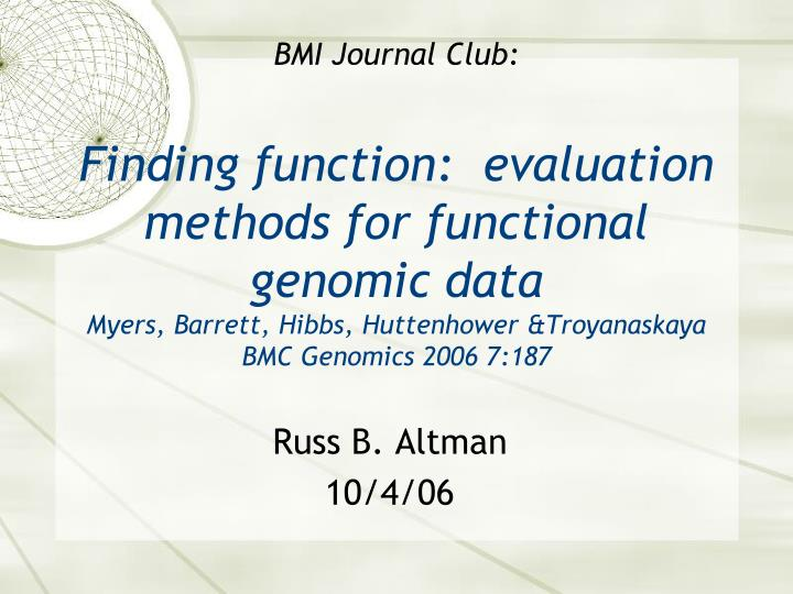 ppt - informatics journal club and research talk template, Powerpoint templates
