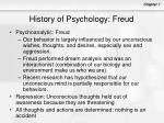 history of psychology freud