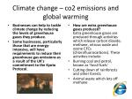 climate change co2 emissions and global warming20
