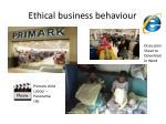 ethical business behaviour37