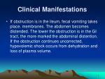 clinical manifestations12