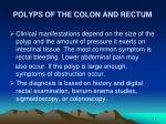 polyps of the colon and rectum48