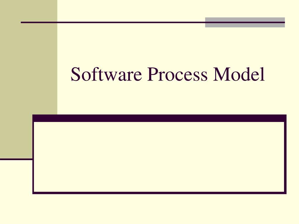 software process model l.