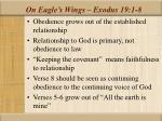 on eagle s wings exodus 19 1 89