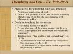 theophany and law ex 19 9 20 2112