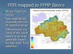 ffpi mapped to ffmp basins