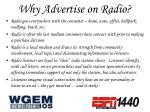 why advertise on radio