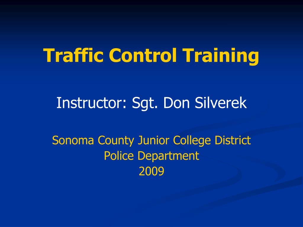 traffic control training l.