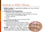 symbols re willy s dream
