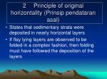 2 principle of original horizontality prinsip pendataran asal