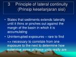 3 principle of lateral continuity prinsip keselanjaran sisi