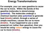 energy transformations1