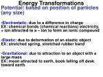 energy transformations5