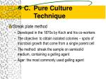 pure culture technique8
