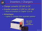 inverters chargers