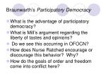 braunwarth s participatory democracy