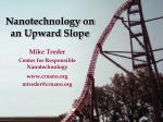 nanotechnology on an upward slope