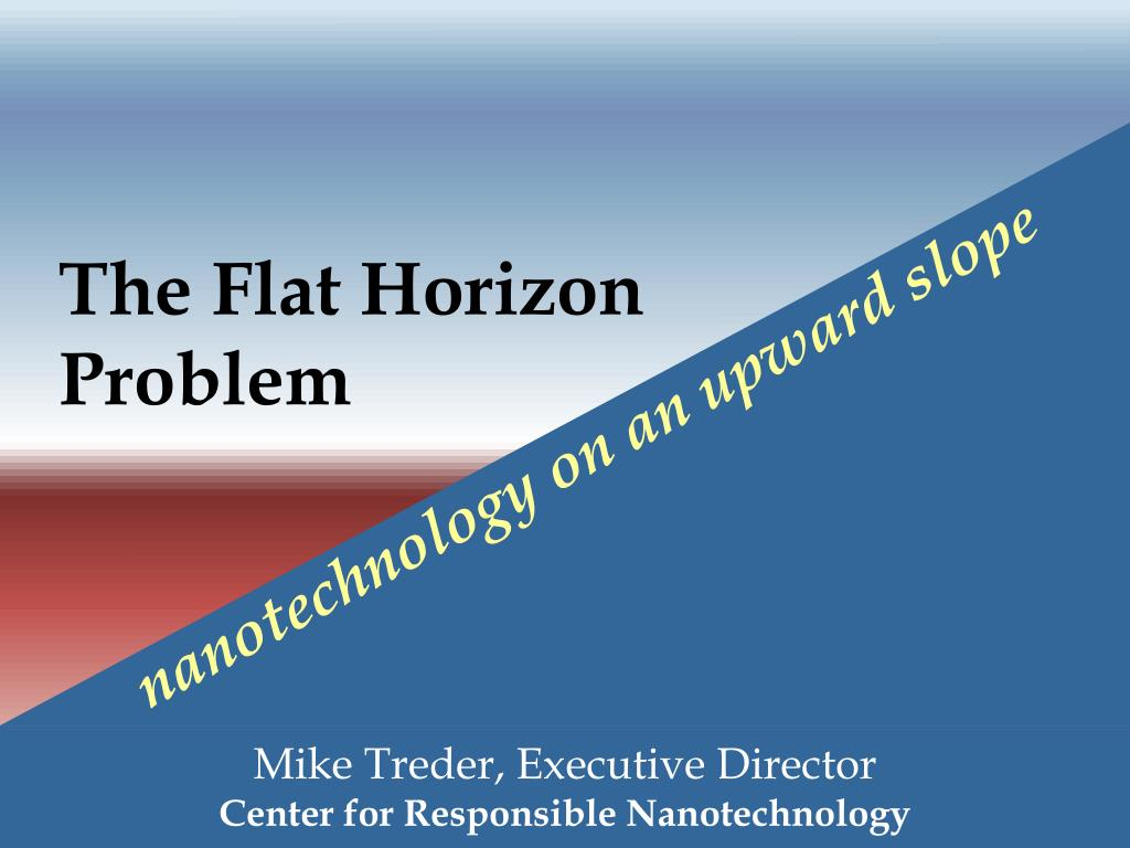 the flat horizon problem l.