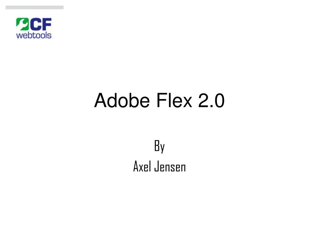 adobe flex 2 0 l.