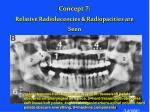 concept 7 relative radiolucencies radiopacities are seen45
