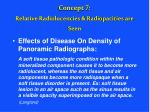 concept 7 relative radiolucencies radiopacities are seen48