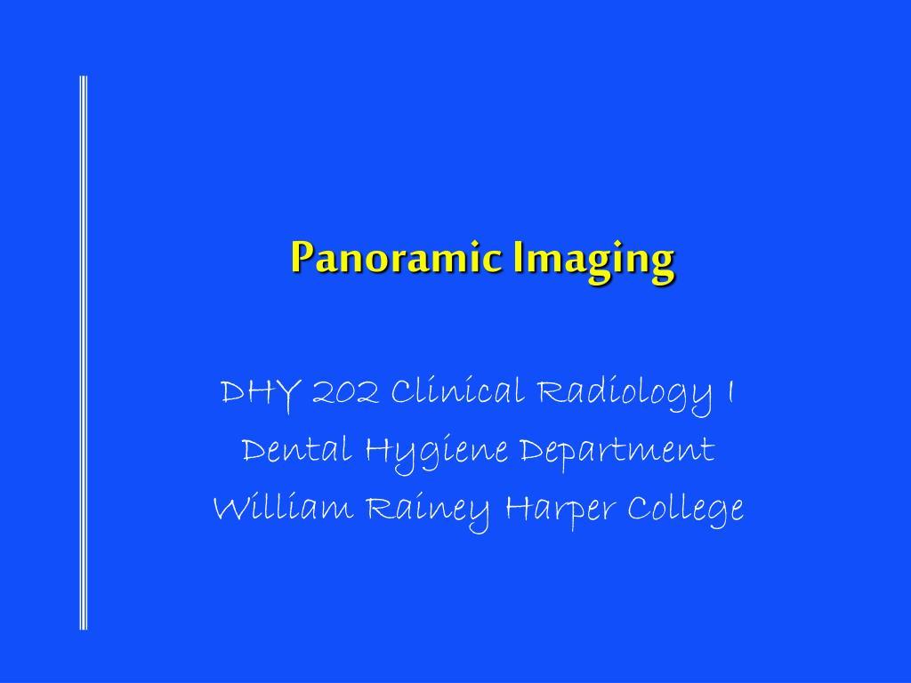 panoramic imaging l.