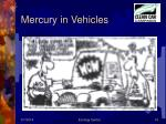 mercury in vehicles
