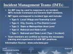 incident management teams imts