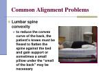 common alignment problems10