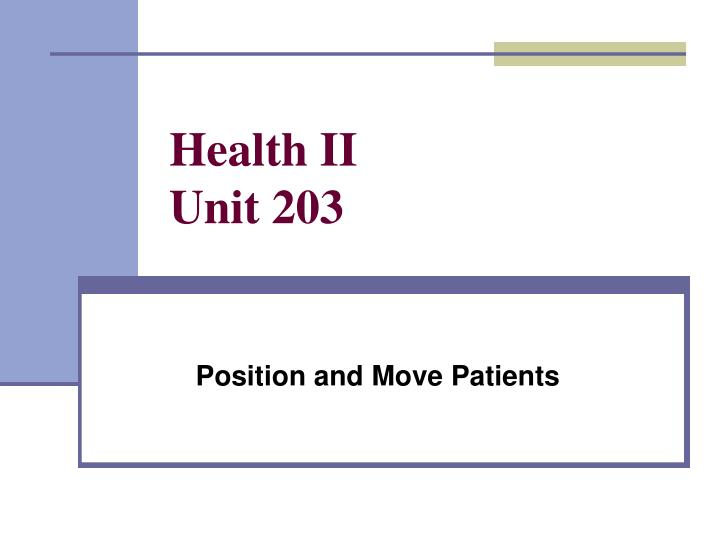 health and social unit 203 Nvq level 2 in health and social care nvq level 2 care will be suitable for you if you report to and take instructions from a manager or supervisor.