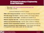 us national academy of engineering grand challenges
