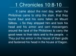 1 chronicles 10 8 10