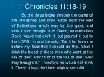 1 chronicles 11 18 19