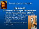 renaissance time line3