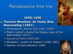 renaissance time line4