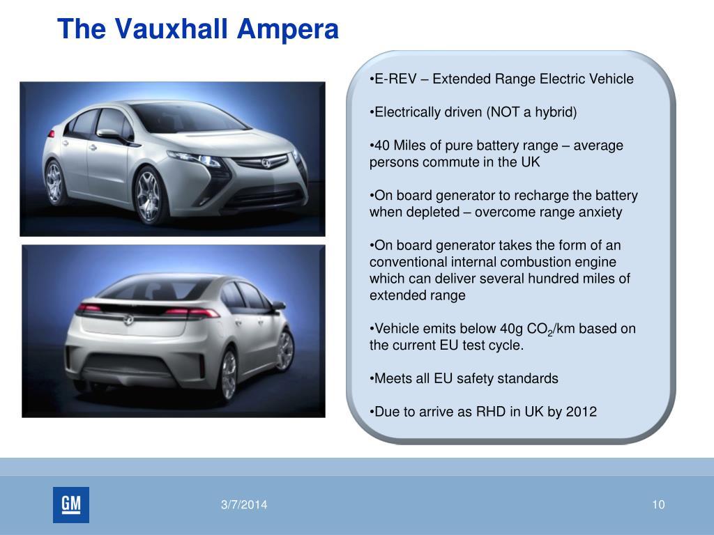 The Vauxhall Ampera