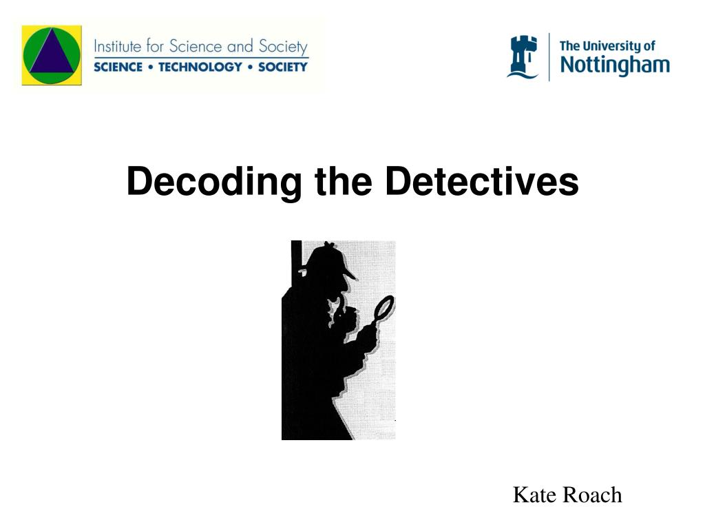decoding the detectives l.